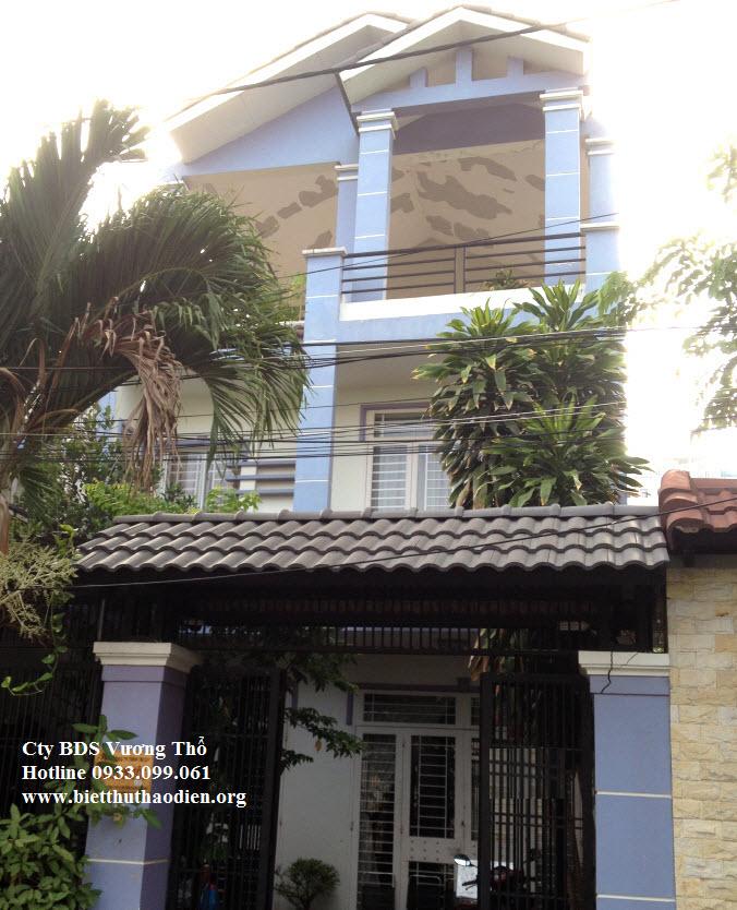 Bán biệt thự ven sông Sài Gòn khu Thành Ủy, Thủ Đức 6,6X24 trệt 2 lầu giá tốt