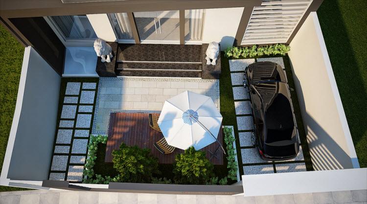Bán gấp biệt thự An Phú Quận 2 11x18 thiết kế cực đẹp