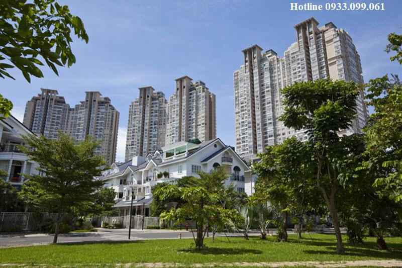 cho thuê biệt thự Saigon Pearl, nội thất tuyệt đẹp