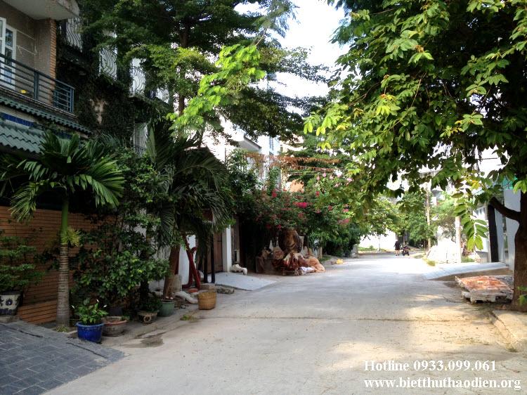 Bán đất biệt thự bờ sông Sài Gòn, Hiệp Bình Chánh, Thủ Đức giá tốt
