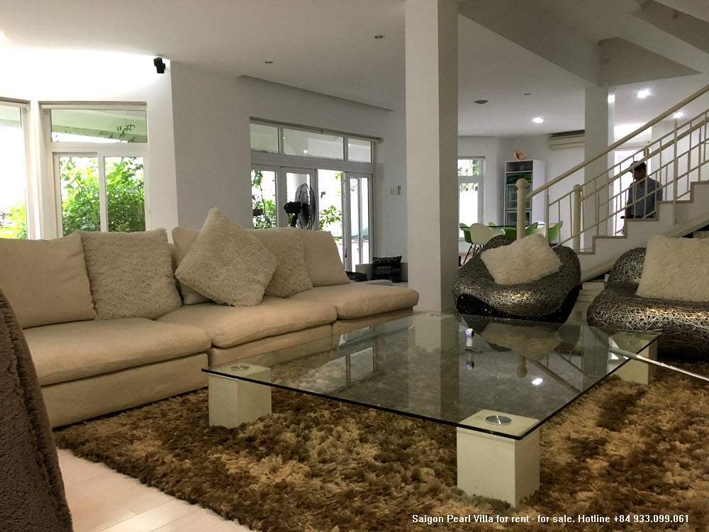 Saigon Pearl Villa for rent